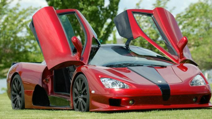Top 7 Fastest Cars In The World - SSC Ultimate Aero