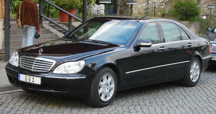 السيارات المفضلة لدى الرجال فوق الخمسين - مرسيدس اس كلاس