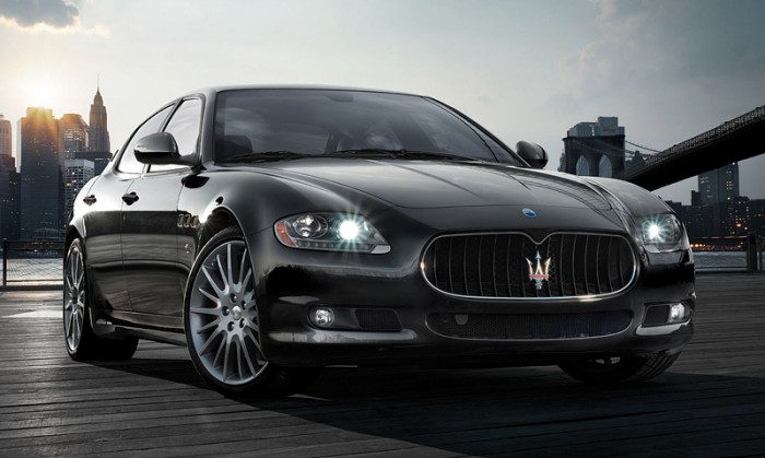 Best Cars For Your Europe Road Trip - Maserati Quattroporte Sport GT S