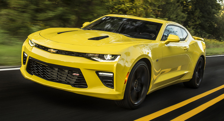 10 Most powerful cars in the world - Chevrolet-Camaro-SS
