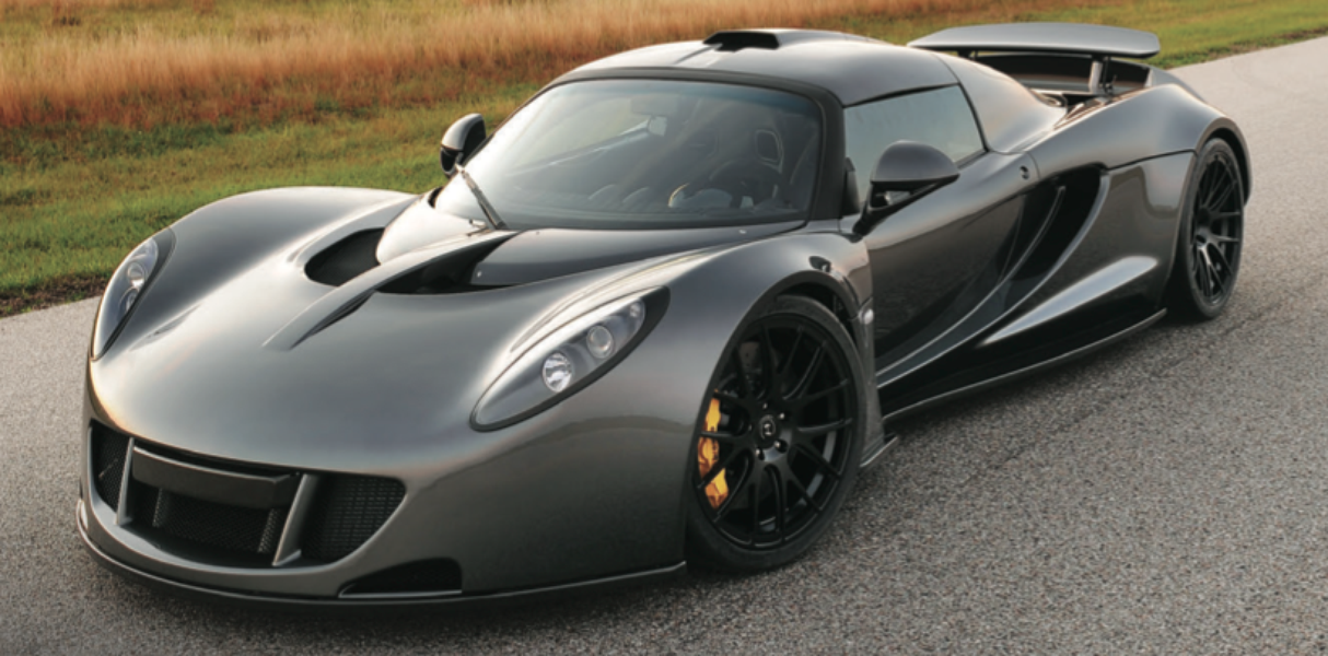 Top 7 Fastest Cars In The World - Hennessey Venom GT