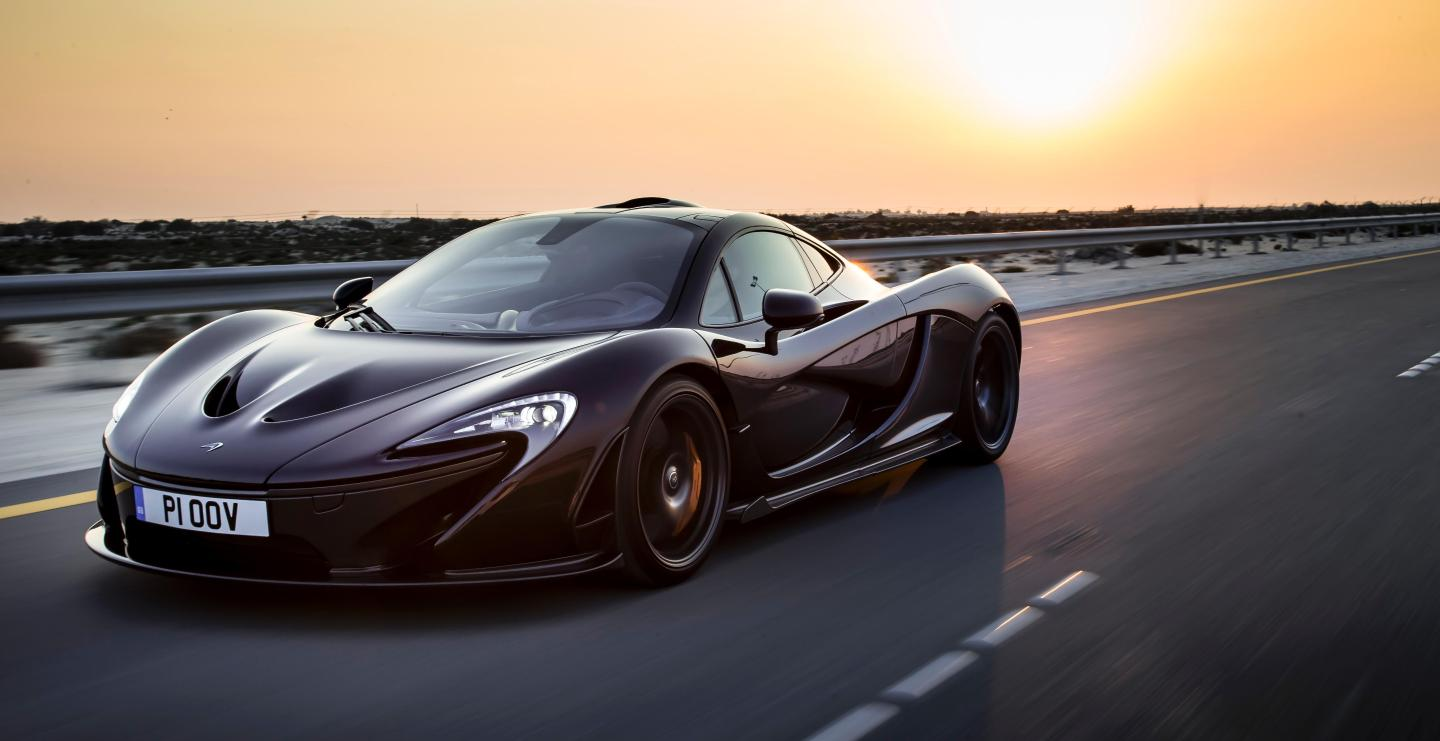 10 most powerful cars in the world - McLaren P1