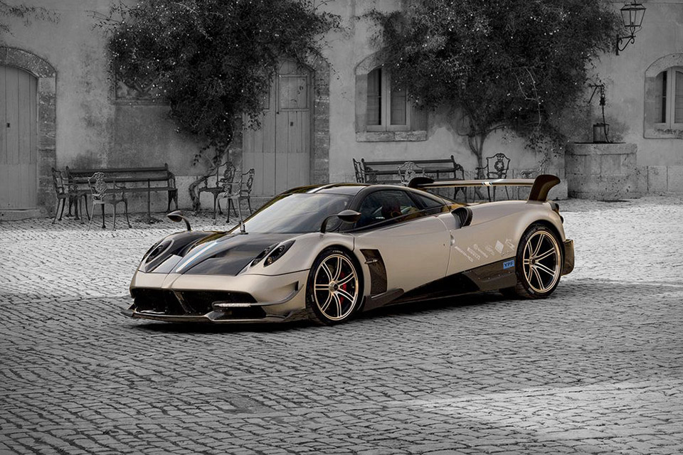 Pagani Huayra BC - The most expensive cars in the world