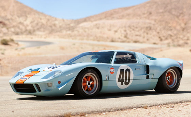 1968 Ford GT40 in Qatar